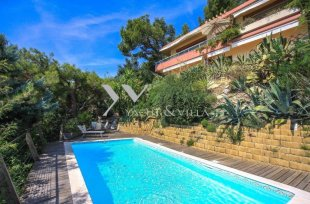 Contemporary Villa for sale panoramic sea view - ROQUEBRUNE CAP MARTIN Image #1