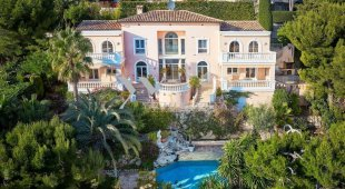 Classically Styled Villa for sale panoramic sea view - VILLEFRANCHE SUR MER Image #1
