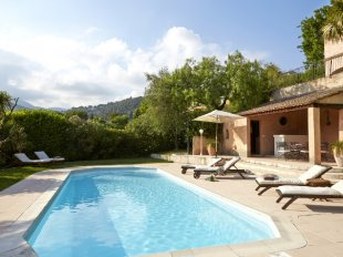 villa rental st paul de vence