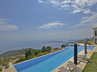 Stunning Villa for rental with a panoramic sea view - EZE SUR MER Image #1