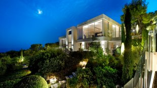 Contemporary villa rental panoramic sea view- ST JEAN CAP FERRAT Image #1