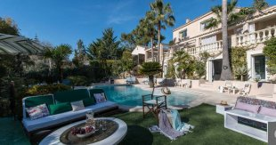 Villa rental close to the beach with 6 bedroom - Juan Les Pins Image #1