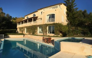 Provencal villa for rental with a panoramic sea view and 7 bedrooms - GOLFE JUAN Image #1