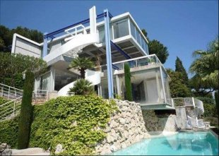 Unique contemporary villa rental spectacular views  - CAP D'ANTIBES Image #1
