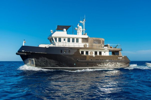 Explorer Yachts for Sale | Expedition Yachts for Sale