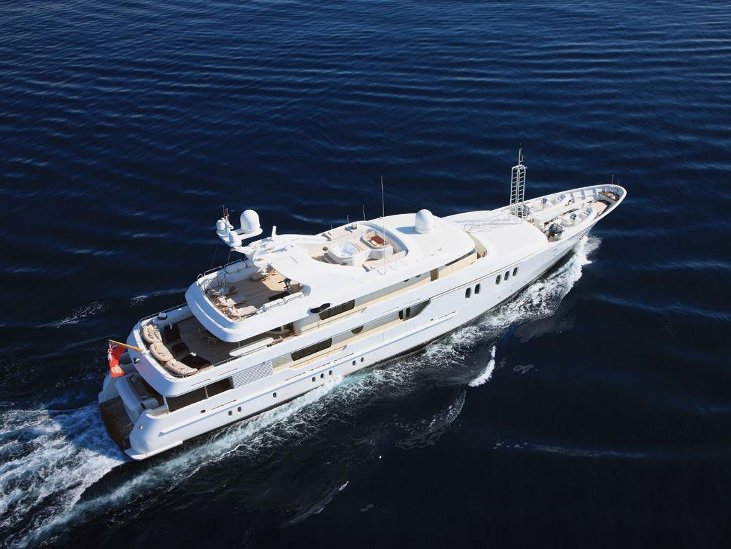 Yacht & Villa central agents 50m Amels Superyacht