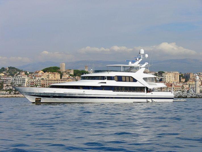 Sold ! Lürssen 46.3m Superyacht M/Y Ontario