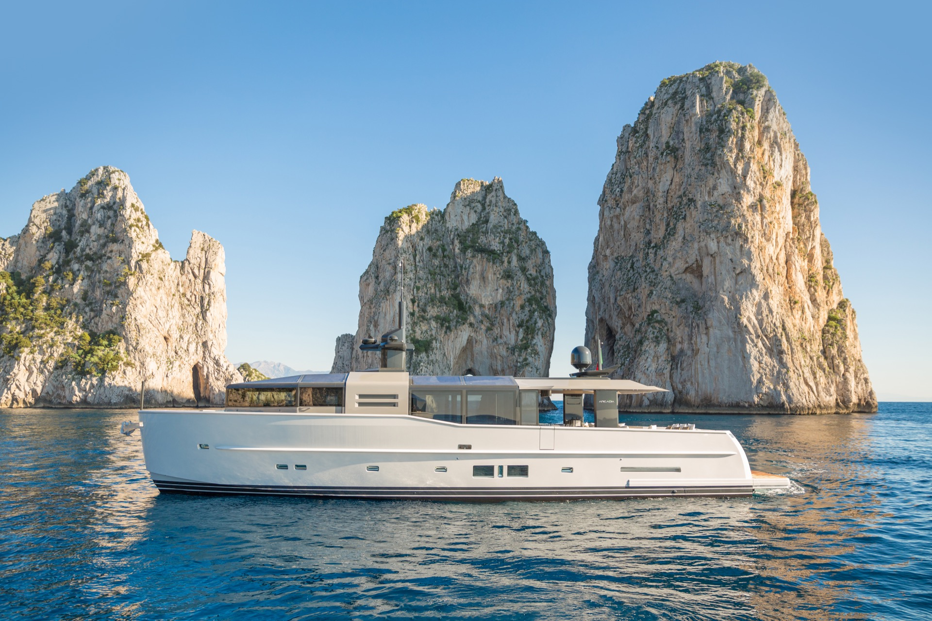 Further price drop on Arcadia motor yacht Pangea