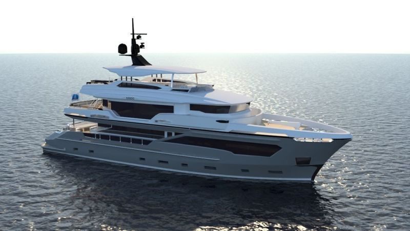 Yacht & Villa sell second Kando 110 Hull to American owner