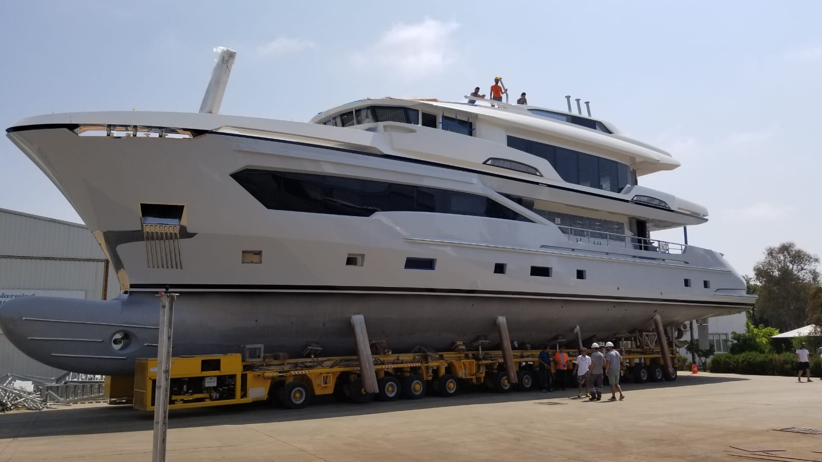 Kando 110 Superyacht for sale with Yacht & Villa emerges from hangar