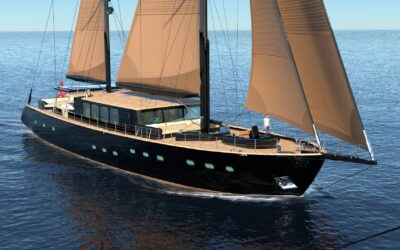 """In build 34m Sailing Yacht S/Y """"Miti One"""" For Sale with Yacht & Villa"""